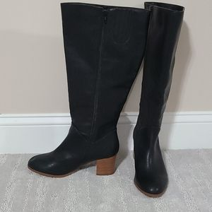 Comfortview Black boots Wide Cuffs